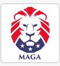 MAGA trump logo Sticker