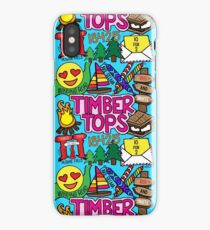 Timber Tops  iPhone Case/Skin