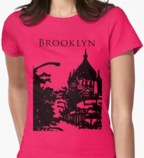 russian orthodox cathedral in brooklyn Womens Fitted T-Shirt