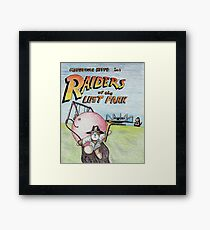 Raiders of the Lost Park Framed Print