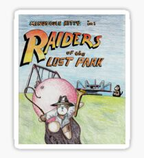 Raiders of the Lost Park Sticker