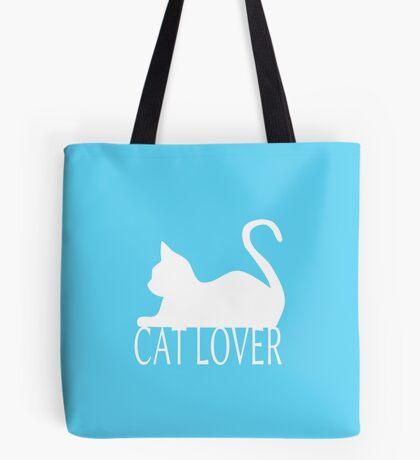 Cat Lover ... White Tote Bag