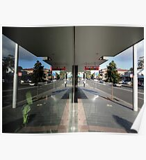 Reflection,Top Ryde,NSW,Australia 2014 Poster