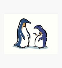 penguin lifestyles Art Print