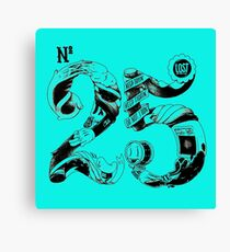 Typography : 25 Years Still Going  Canvas Print