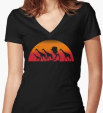 Scout Herd Women's Fitted V-Neck T-Shirt