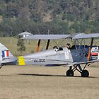 Tiger Moth VH-BGO,Luskintyre Airfield,Australia 2014 by muz2142