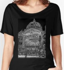 Flinders Street Station, Melbourne Women's Relaxed Fit T-Shirt