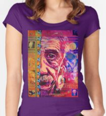 Camiseta entallada de cuello redondo Einstein