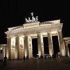Brandenburg Gate at Night by Daniel McIntosh
