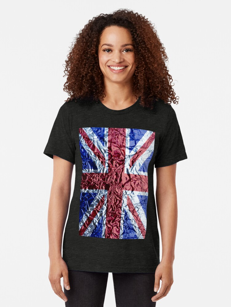 Alternate view of The Union Jack Tri-blend T-Shirt