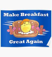 PARODY: Make Breakfast Great Again Poster