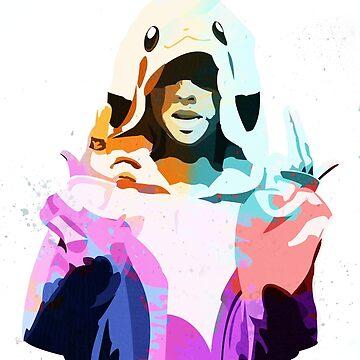 ~ Yolandi Vi$$er ~ Colour by Megabass