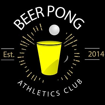 Beer Pong Athletics Club T Shirt by therealman