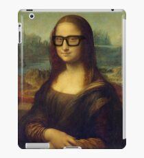 Hipster Glasses Mona Lisa - Leonardo da Vinci iPad Case/Skin