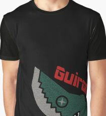 Guiron - Black Graphic T-Shirt