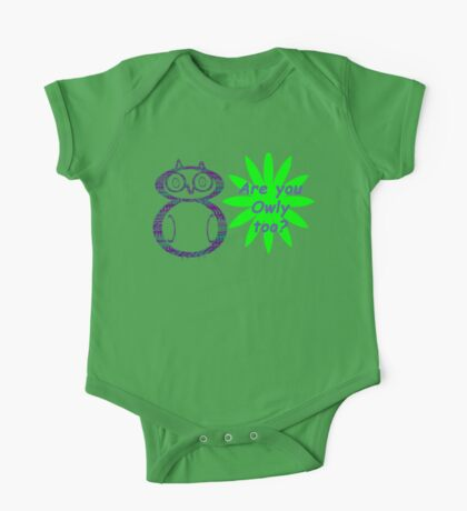 Are you Owly too? Kids Clothes