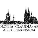 Colonia Claudia Ara Agrippinensium Köln Skyline Vintage von theshirtshops