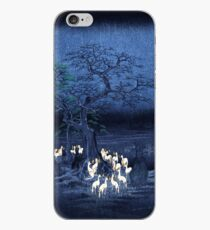 Hiroshige New Year's Eve Foxfires at the Changing Tree, Oji iPhone Case