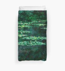 1904-Claude Monet-Waterlilies-89x92 Duvet Cover
