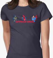 Super Hero - Supersize Women's Fitted T-Shirt