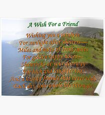 Wish For A Friend Poster