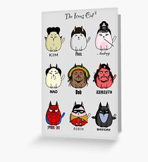 The Icons Cat vol.2 Greeting Card