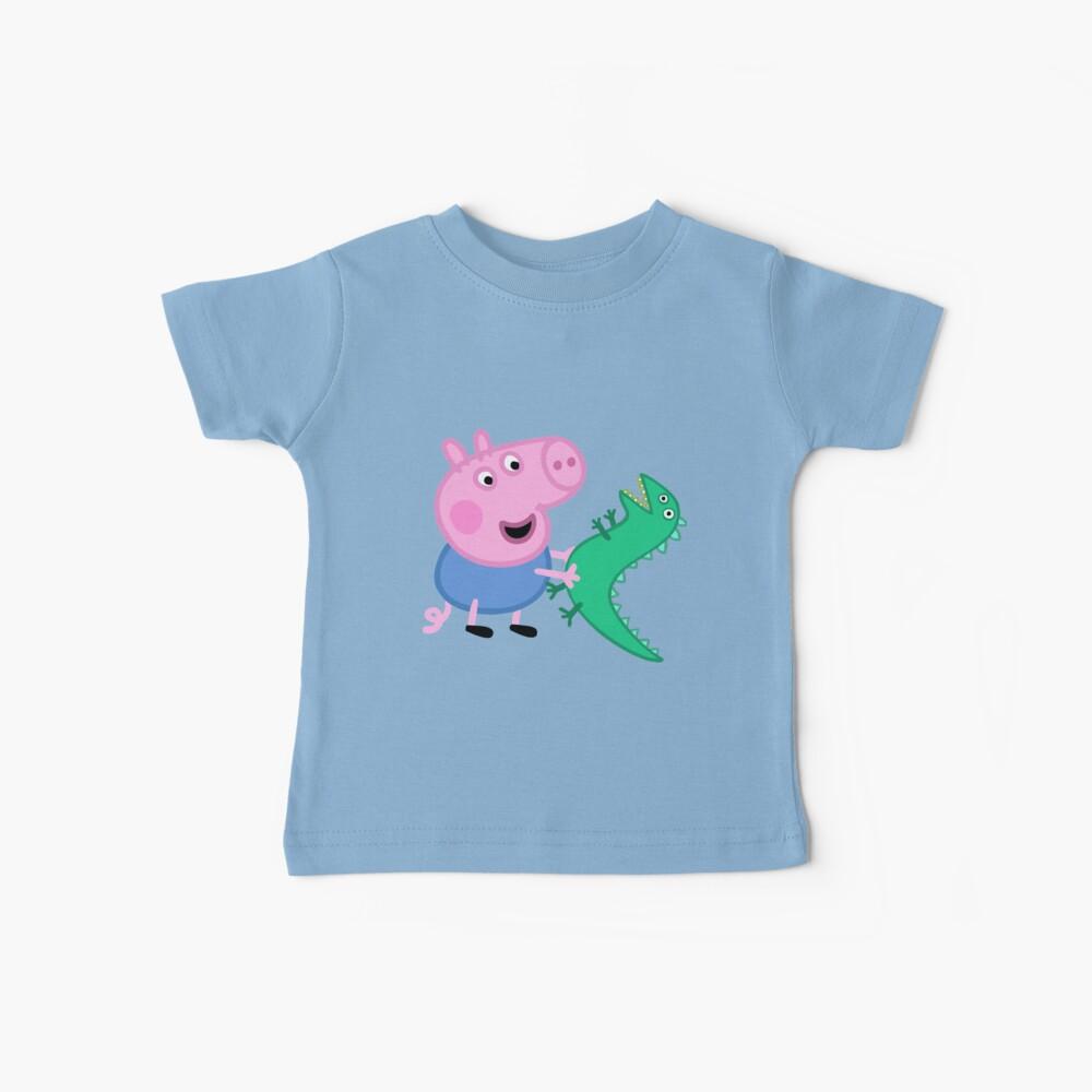 George und Dinasuar Baby T-Shirt