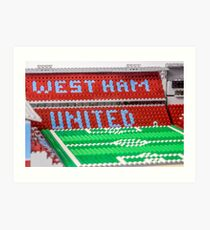West Ham Art Print