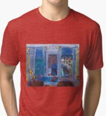 Dufy Raoul - Window Opening on Nice 1928 ,   Seascape  Tri-blend T-Shirt