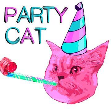 Party Cat by benbdprod
