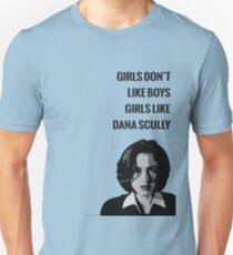 Girls Like Dana Scully Unisex T-Shirt
