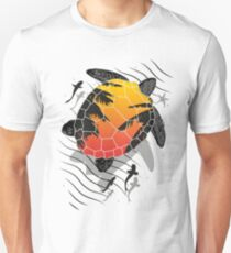 Turtle Red Unisex T-Shirt