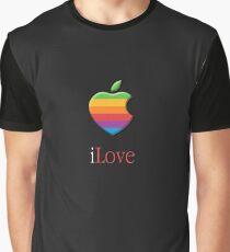 iLove 3D (for dark shirts) Graphic T-Shirt