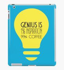 Genius is... iPad Case/Skin