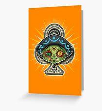 The Dead Kat Klub Greeting Card