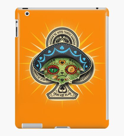 The Dead Kat Klub iPad Case/Skin