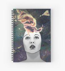 A Stellular Frame of Mind Spiral Notebook