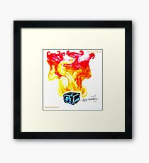 Paper Scrolls (2) Hot Framed Print