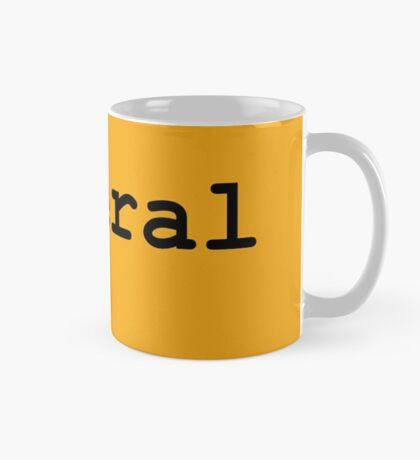 Liberal (Black) Mug