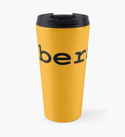 Liberal (Black) Travel Mug