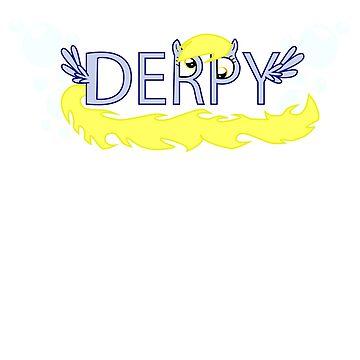 Derpy Typography by Krakenstein