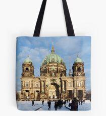 Berlin Cathedral 001, Berliner Dom Tote Bag