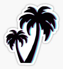 Miami Palm Tree Sticker