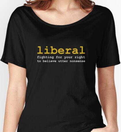 Utter Nonsense Women's Relaxed Fit T-Shirt