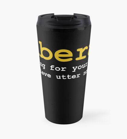 Utter Nonsense Travel Mug