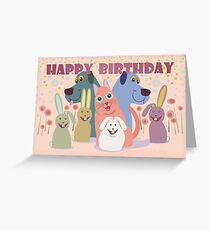 HAPPY BIRTHDAY FROM ALL OF US Greeting Card