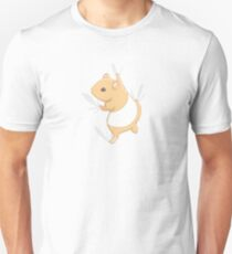 Climbing Hamster Unisex T-Shirt