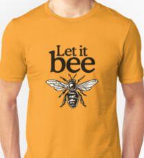 Let It Bee Beekeeper Quote Design T-Shirt