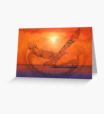 Spirit Eagle - Anpiel Greeting Card